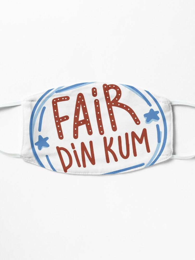 Alternate view of Fair Dinkum by AussiEmoji™ Australia Mask