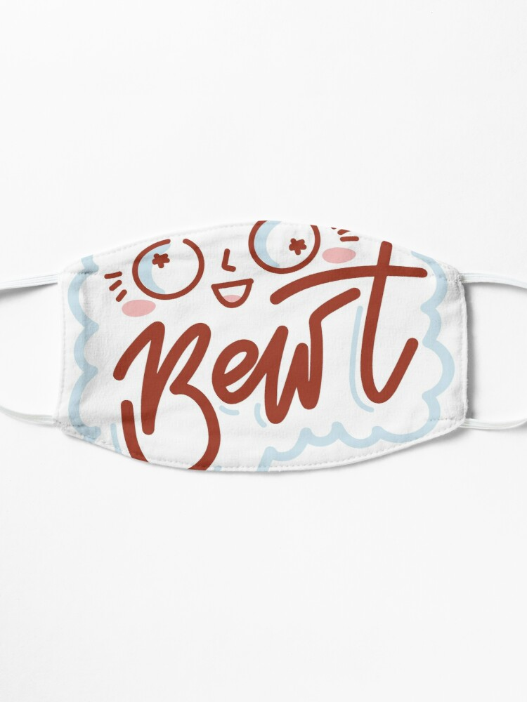 Alternate view of BEWT by AussiEmoji™ Australia Mask