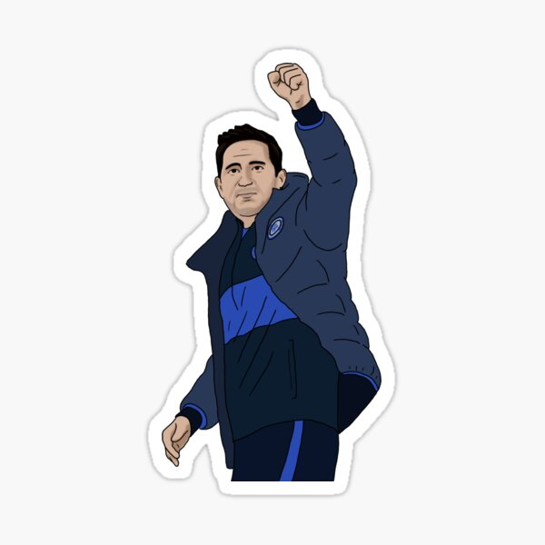 Chelsea Manager Frank Lampard Sticker