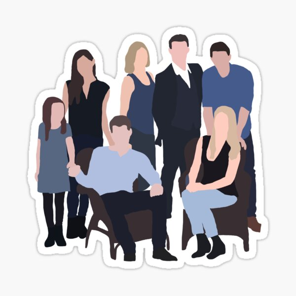 The Mikaelsons Sticker