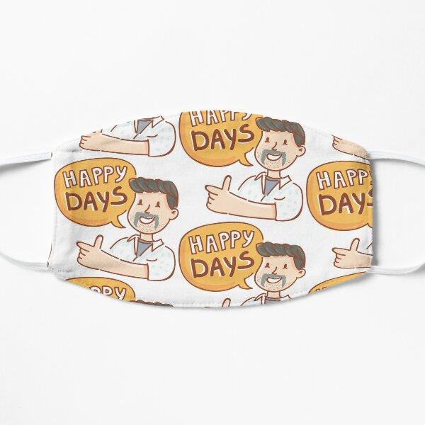 Happy Days by AussiEmoji™ Australia Flat Mask
