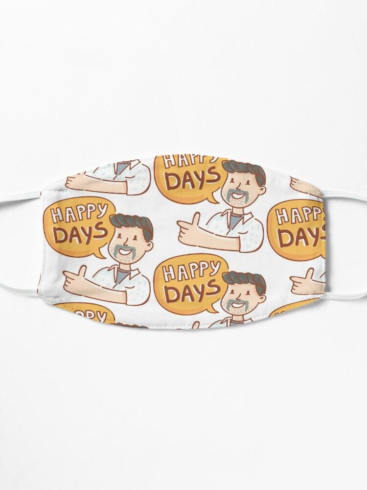 Alternate view of Happy Days by AussiEmoji™ Australia Mask
