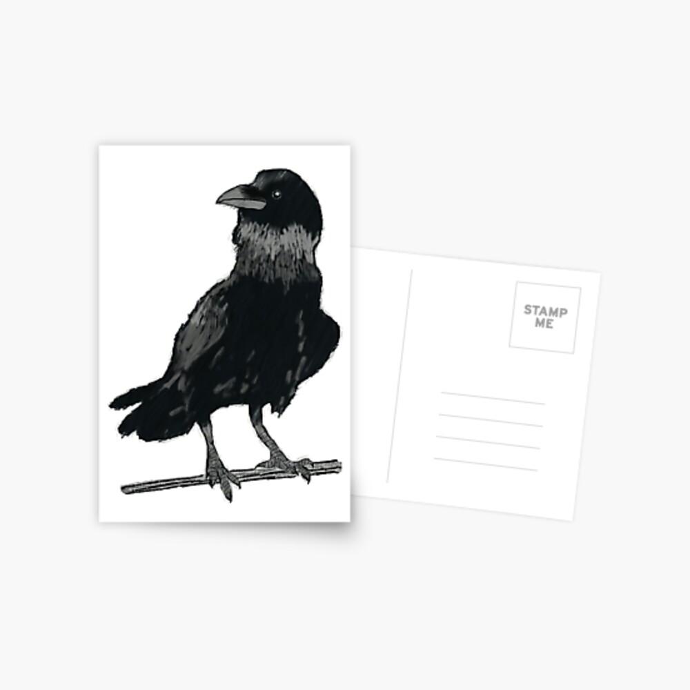 The Raven (Card) Postcard