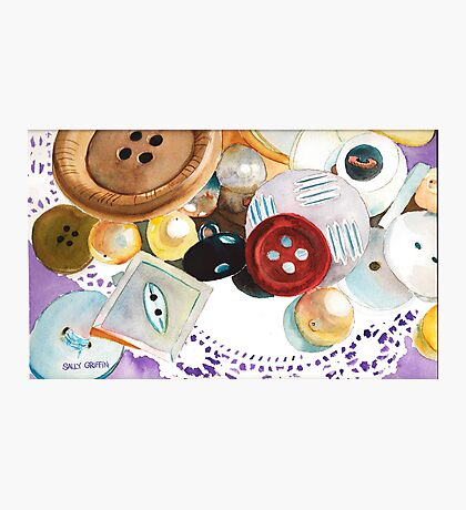 Doilies and Buttons Photographic Print