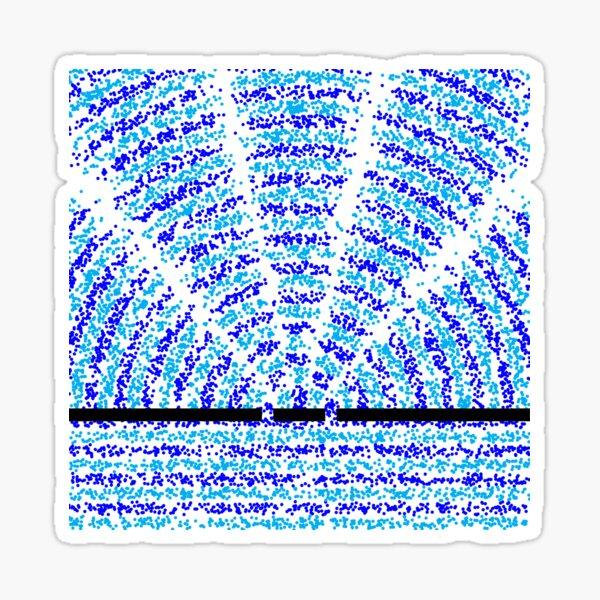 Double-slit experiment Sticker