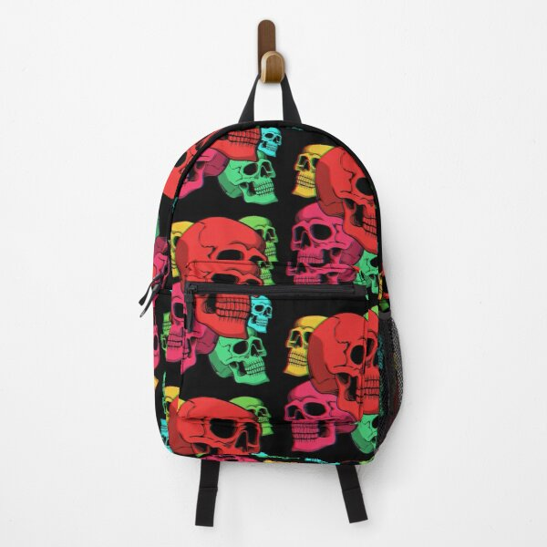 Skull Collection, Shirt For Halloween, Gift Backpack