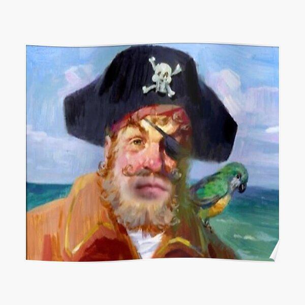 SpongeBob Pirate Painty Poster