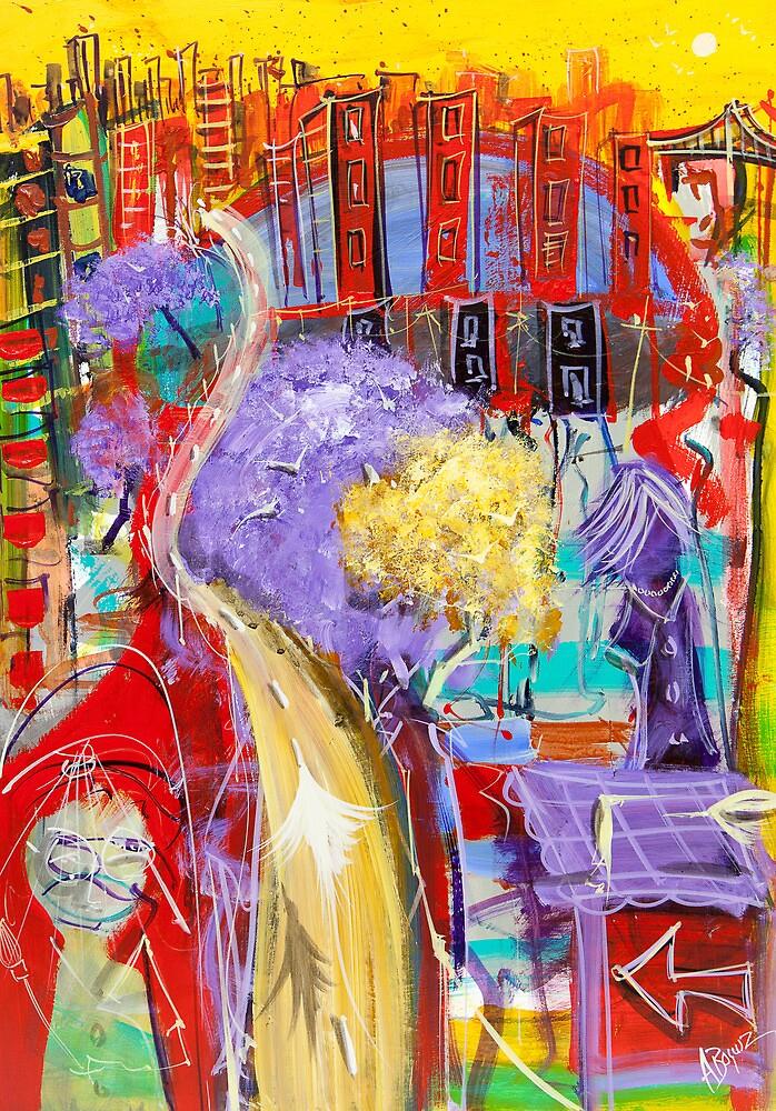 A brush with freedom by Adam Bogusz