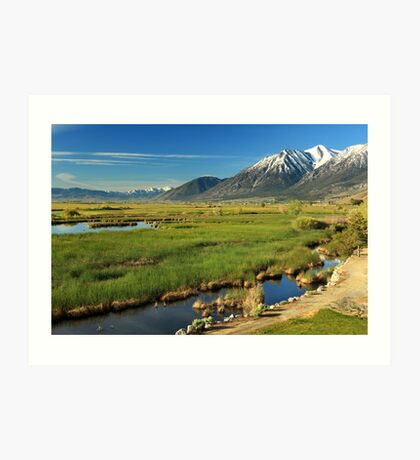 Job's Peak Carson Valley Art Print