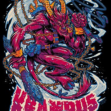 BEWARE, THE KRAMPUS by beastpop