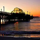 Sunrise in Myrtle Beach with a Purple Sheen by Dennis Rubin IPA