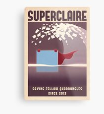 SUPERCLAIRE - Thomas Was Alone Metal Print