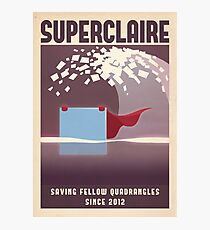 SUPERCLAIRE - Thomas Was Alone Photographic Print