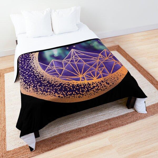 gold night court insignia Comforter