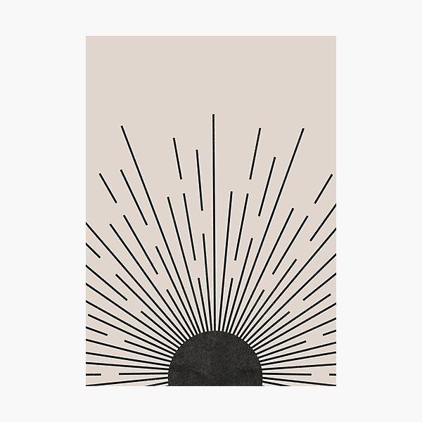Tumblr sun Photographic Print