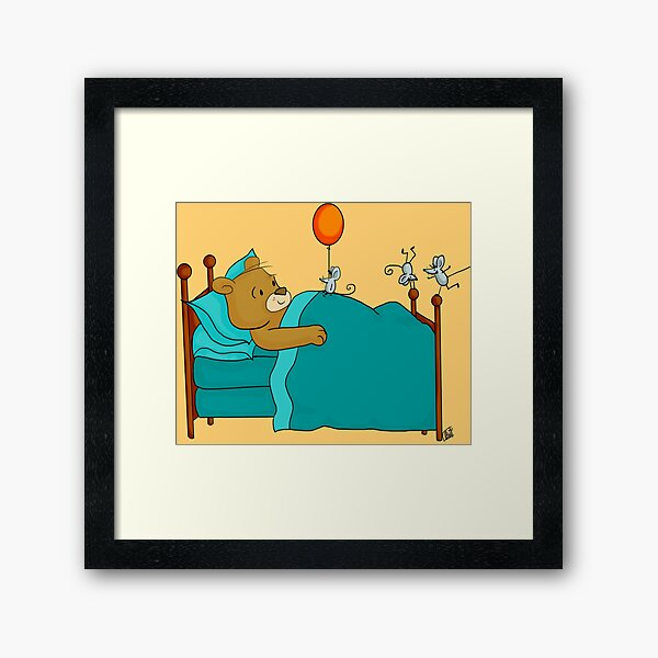 Get Well Framed Art Print