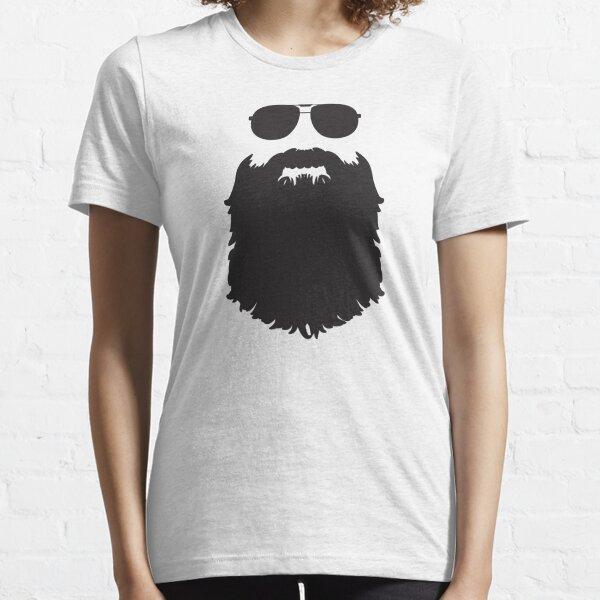 AVIATOR GLASSES AND BEARD Essential T-Shirt
