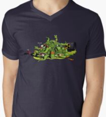 Hideously Mutated Ninja Turtles Mens V-Neck T-Shirt