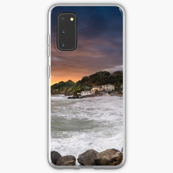 Steephill Cove Storm Isle Of Wight Samsung Galaxy Soft Case