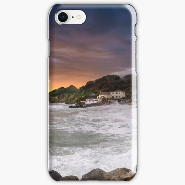 Steephill Cove Storm Isle Of Wight iPhone Snap Case