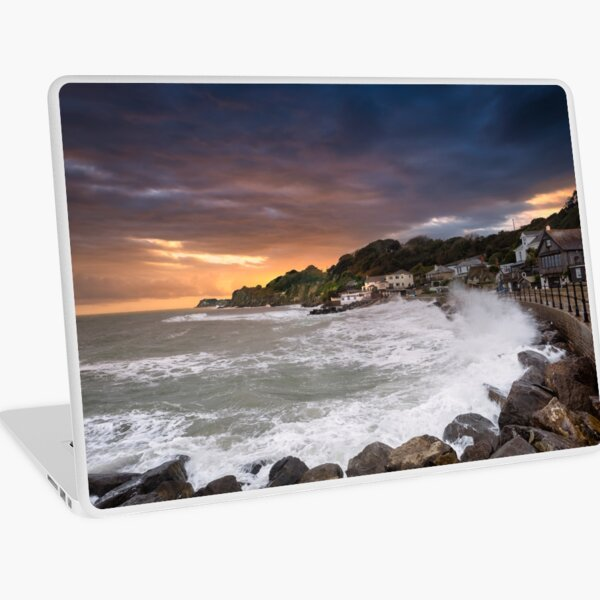 Steephill Cove Storm Isle Of Wight Laptop Skin