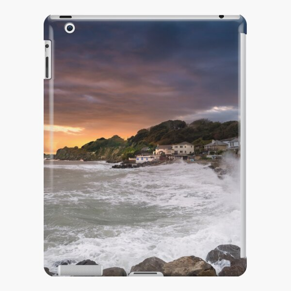 Steephill Cove Storm Isle Of Wight iPad Snap Case