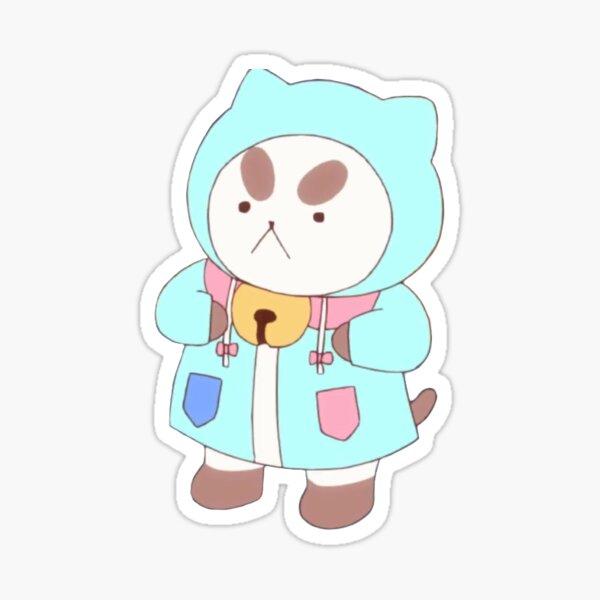 raincoat puppycat Sticker