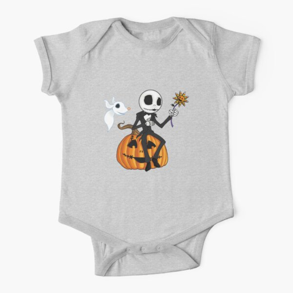 Jack and Zero Short Sleeve Baby One-Piece