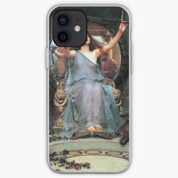 Circe offering the cup to Odysseus - John William Waterhouse iPhone Soft Case
