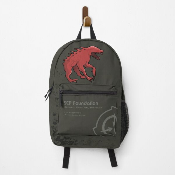 SCP-939 SCP Foundation With Many Voices Backpack