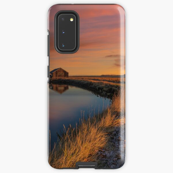 Newtown Saltmarsh Sunrise Samsung Galaxy Tough Case