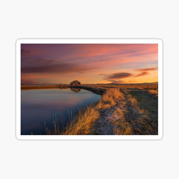 Newtown Saltmarsh Sunrise Sticker