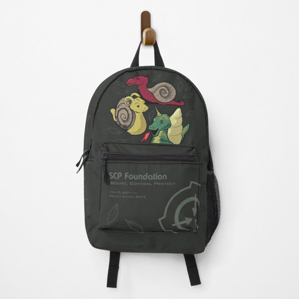 SCP-111 Dragon-Snails SCP Foundation Backpack