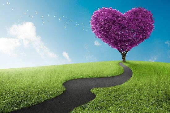Heart tree by jordygraph