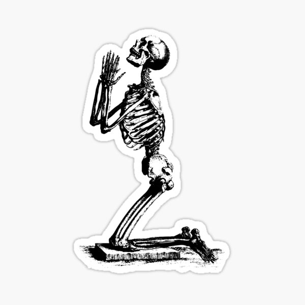 SuicideBoys Skeleton Sticker