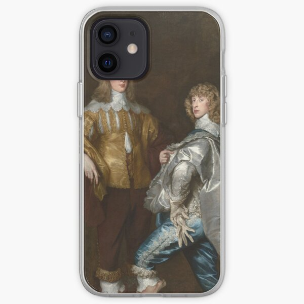 Anthony Van Dyck - Lord John Stuart And His Brother, Lord Bernard Stuart iPhone Soft Case