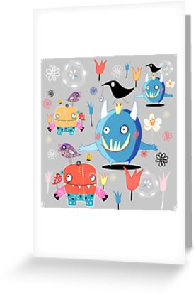 funny monsters by Tanor
