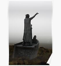 Manannan Commands the Sea Poster