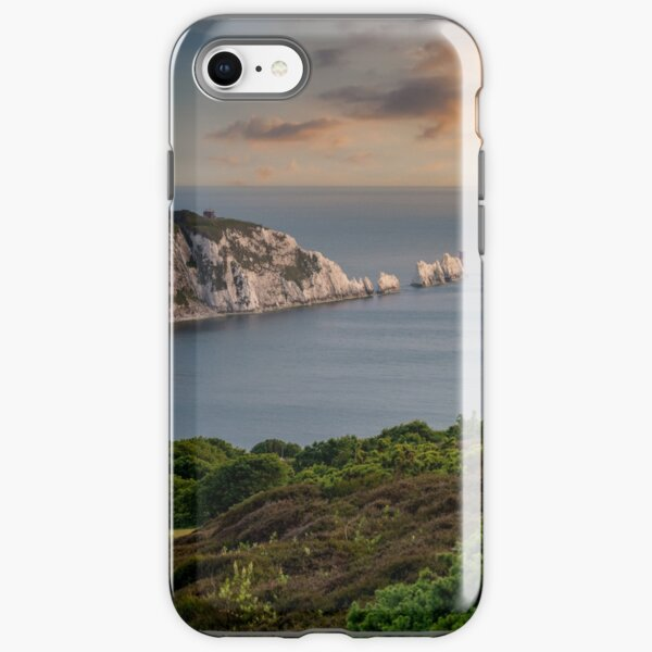 Headon Hill And The Needles iPhone Tough Case