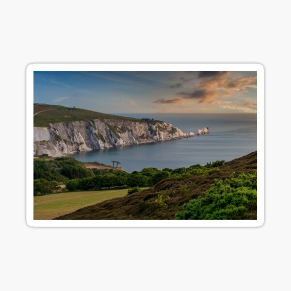 Headon Hill And The Needles Sticker