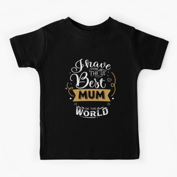 Meilleure maman T-shirt enfant