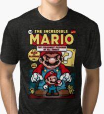 Incredible Mario Tri-blend T-Shirt