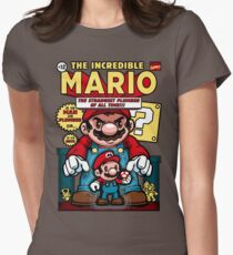 Incredible Mario Womens Fitted T-Shirt