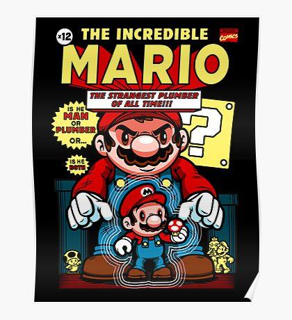 Incredible Mario Poster