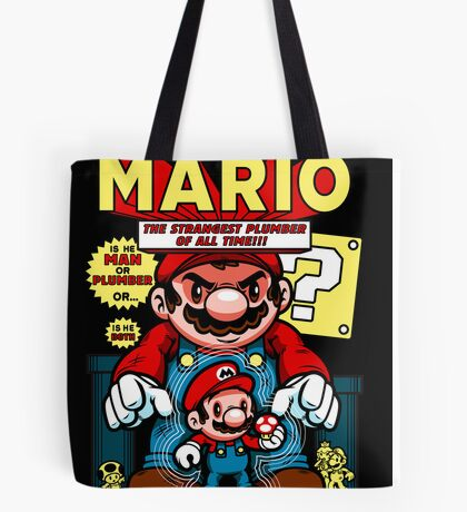 Incredible Mario Tote Bag