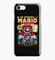 Incredible Mario iPhone Case/Skin