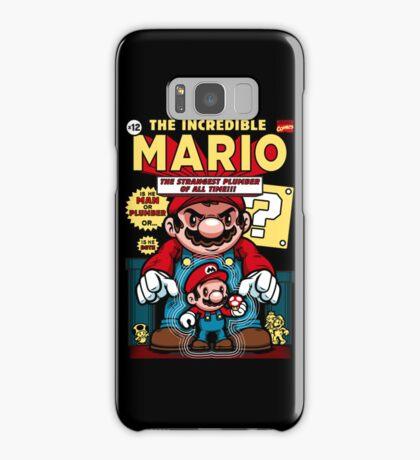 Incredible Mario Samsung Galaxy Case/Skin