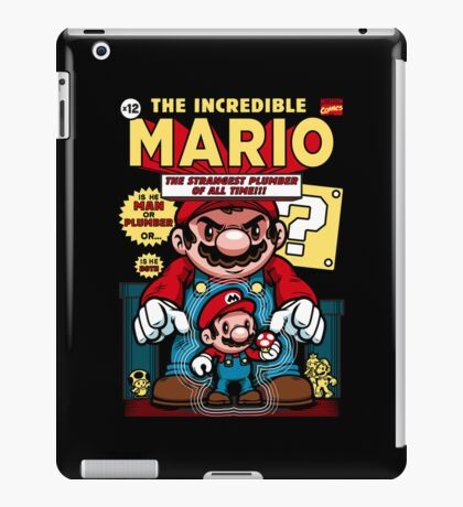 Incredible Mario iPad Case/Skin