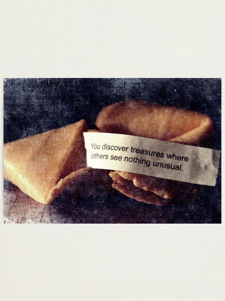 Alternate view of Confucius Say.... Photographic Print