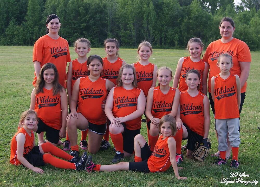 Wildcats softball team by hotshotsdp